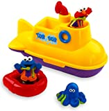 51q2UnLzMsL. SL160  Fisher Price Sesame Street Tub Sub
