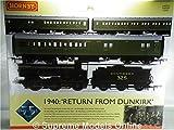 HORNBY R3302 1940 RETURN FROM DUNKIRK MODEL TRAIN SET SR DRUMMOND CLASS STEAM K8