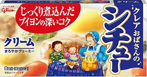 江崎グリコ クレアおばさんのシチュー クリーム 150g×5個