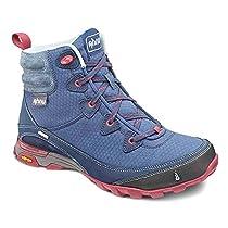Ahnu Women's Sugarpine Boot WP Blue Spell 5.5 M