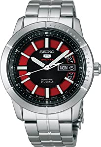 Seiko 5 Sports Mechanical self-winding mechanical (with manual winding) (10 atm) for everyday life waterproof SARZ039 Men's Watch Japan import