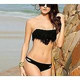 XARA Bikinis ( Negro/Naranja ) - Compresión - para Mujer , Black , S