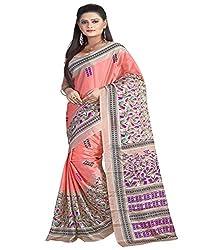 SB Creations Women's Turcky Silk Saree (SB_106_Multi)