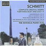 Schmitt: Complete Works For Piano Duet & Duo, Vol. 4