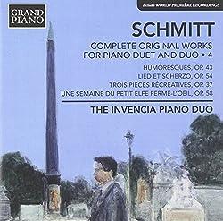 Schmitt: Complete Original [The Invencia Piano Duo] [Grand Piano: GP624]
