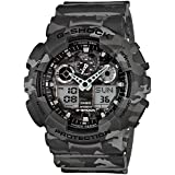 Casio Men's G-Shock GA100CM-8A Gray Plastic Quartz Watch