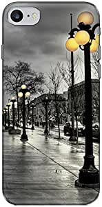 The Racoon Grip street lights hard plastic printed back case/cover for Apple Iphone 7