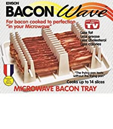 Emson Bacon Wave, Microwave Bacon Cooker by E.Mishan & Sons, Inc.