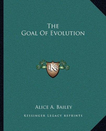 The Goal of Evolution
