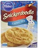 Pillsbury Snickerdoodle Cookie Mix, 17.5 Ounce (Pack of 12)