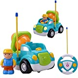 Holy Stone® RC Cement Mixer/Dump Truck Radio Control Toy for Toddlers & Pre-Kindergarten (Shipped At Random)