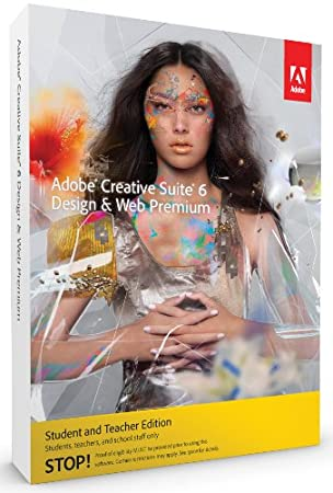 Adobe Creative Suite 6  Design and Web Premium, Student and Teacher Version (Mac)