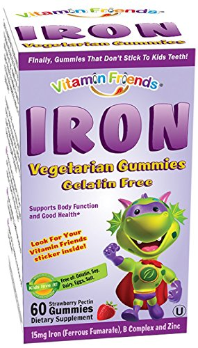 Vitamin Friends Iron Diet Supplement, 60 Count (Iron Chewable compare prices)