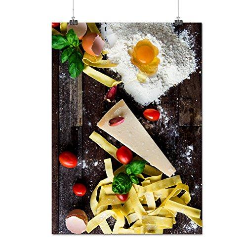 Délicieux Cuisine Désordre Fromage Matte/Glacé Affiche A1 (84cm x 60cm) | Wellcoda