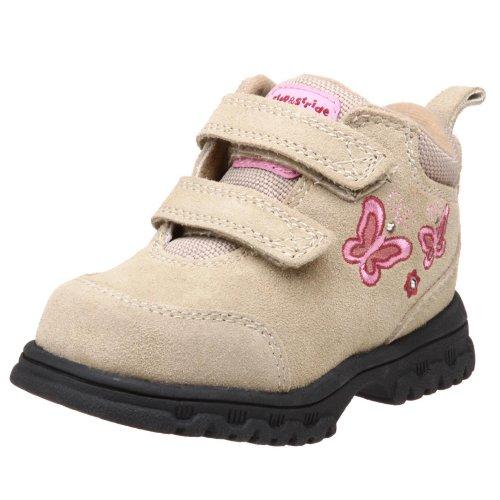 Step & Stride Toddler/Little Kid Mariposa EZ Hiking Boot,Taupe/ Pink,8.5 M US Toddler