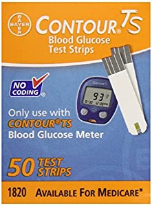 Bayer Contour TS Retail Test Strips, 50 Count