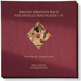 Suite IV in E flat major, BWV 1010-1012:2. Allemande