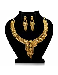 Gold Plated Heavy Jewellery Set for Women