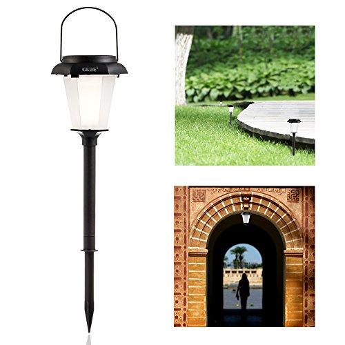 Outdoor Hanging Tree Lights: 6 X Hanging Solar Garden Light
