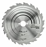 BOSCH 2608640807 Standard For Wood Speed Circular Saw Blade