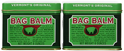 Bag Balm Vermonts Original Moisturizing And Softening Ointment, 8 Ounce (2 Pack)