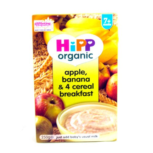 Hipp 7 Month Apple & Banana and Cereal Packet 250g