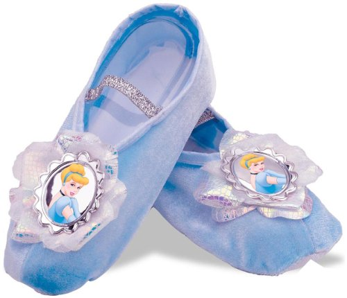 Disguise Inc Girls (Kids) Disney Cinderella Ballet Slippers Child Plastic