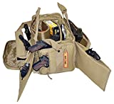 Explorer R2CT Large Padded Deluxe Tactical Rangemaster Gear Bag, 17 x 14 x 10-Inch