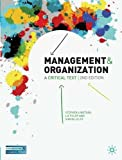 img - for Management and Organisation: A Critical Text, Second Edition book / textbook / text book