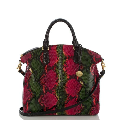 Large Duxbury Satchel<br>Multi Anaconda