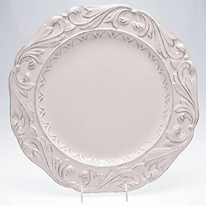 Firenze Ivory 16-Inch Round Platter by Certified International