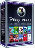 Coffret collector 10 DVD Anthologie Pixar :  8 longs-metrages + 22 courts-metrages - Edition limitée
