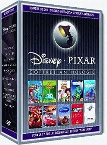 Coffret collector 10 DVD Anthologie Pixar :  8 longs-metrages + 22 courts-metrages - Edition limitée