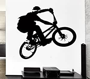 Wall stickers vinyl decal bmx bike bicycle extreme sport for 70 bike decoration