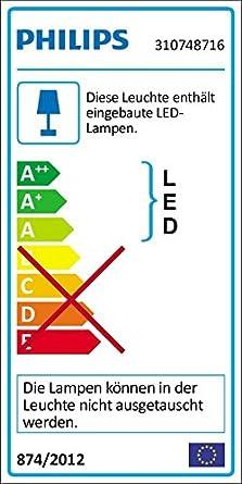 K-Bright 24W Moderne Appliques Murales LED,Blanc naturel Interieur LED Lampe,IP20,Gris fonc/é