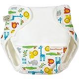 Imse Vimse Organic Cotton Diaper Cover - Jungle Small 11-17 lbs.