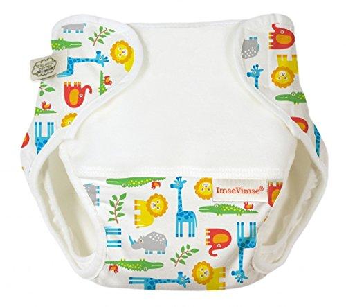 Imse Vimse Organic Cotton Diaper Cover - Preemie - Zoo