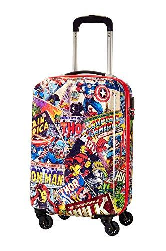 American Tourister Marvel Legends Spinner 55/20 Valigia, 32 Litri, Marvel