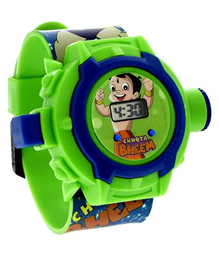 V-Cart Online Services Chota Bheem Projector Digital Watch With 24 Images for Kids  available at amazon for Rs.220