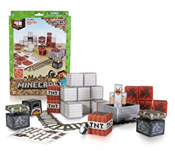 Minecraft Papercraft - Minecart Set, Over 48 Piece