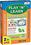 Creative Educational Aids Private Limited Creative's Play 'N' Learn Colours and Shapes, Multi Color