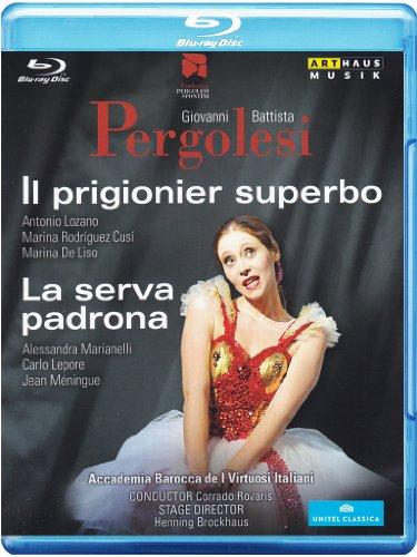 Pergolesi: Il prigionier superbo / La serva Padrona [Blu-ray]