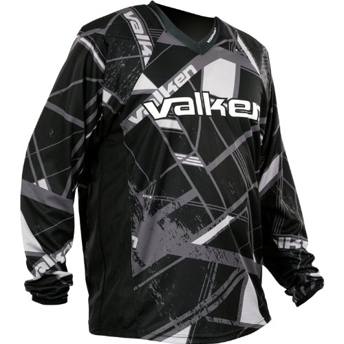 Valken Crusade Hatch Jersey, Grey, 2XSmall (Paintball Pants And Jersey compare prices)
