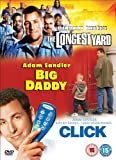 The Longest Yard/Click/Big Daddy [DVD]
