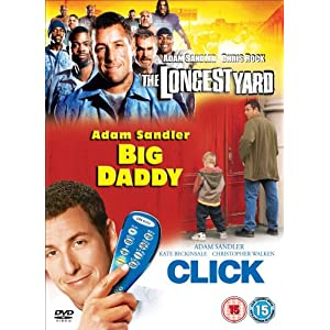 The Longest Yard/Click/Big Daddy (3 DVDs) (Version UK)
