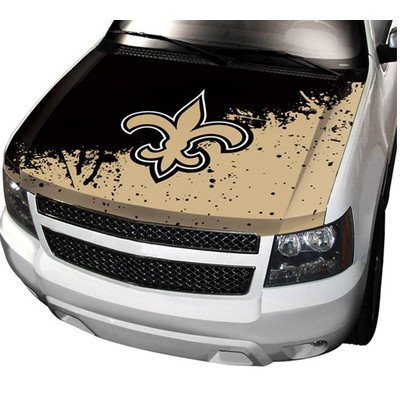 NFL Auto Hood Cover NFL Team: New Orleans Saints at Amazon.com