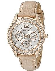 Fossil Stella Analog Silver Dial Women's Watch - ES3816