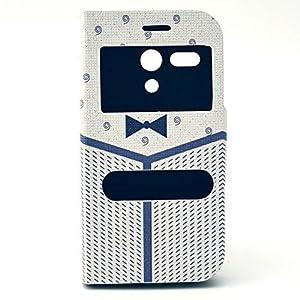 Funda Flip Case Cover Premium Standing Leather Funda Para Motorola Moto G B13 por Ankamal Elec en BebeHogar.com