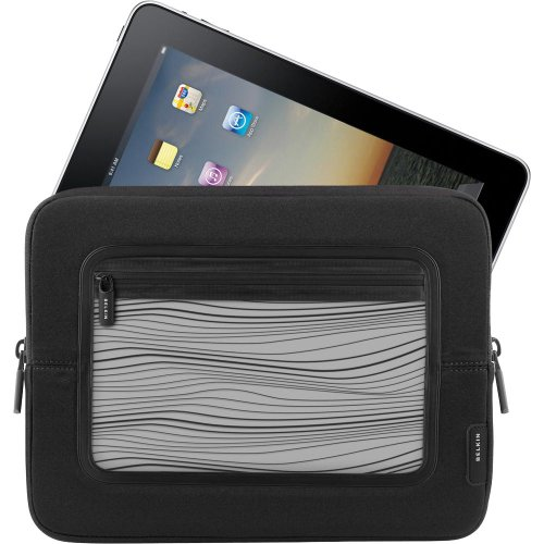 F8N275 Tablet PC Case - Sleeve - Neoprene - Black, White