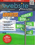 Website Magazine (November 2012) Advertise the Internet Way/PLUS: 50 Top Email Marketing Services